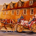 Wonderful Carriage Ride by Carole Spandau