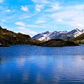 Wonderful Lake San Bernardino In Switzerland. by Tatyana Gundar