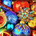 Wonderfully Beautiful Christmas Ornaments by Garry Gay