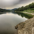 Wonderfully Calm Lake - Abendstimmung Am Diemelsee by Eva-Maria Di Bella