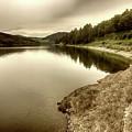 Wonderfully Calm Lake -  Wundervoll Ruhiger See by Eva-Maria Di Bella