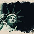 Wonders Of The Worlds - Lady Liberty Of New York 2 by Celestial Images