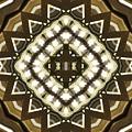 Wood And Light Shield by M E Cieplinski