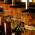Wood Barrels by Perry Webster