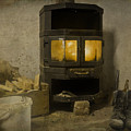 Wood Burning Stove by Alex Art and Photo
