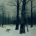 Wood In Winter by Isaak Ilyic Levitan
