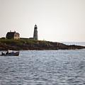 Wood Island Lighthouse 3 by Ray Konopaske