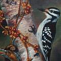 Wood Pecker by Sylvia Stone