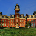 Woodburn Hall In Morning by Dan Friend