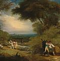 Woodcutters In Windsor Park by Benjamin West