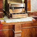 Wooden Bank Cash Register by Betty Denise