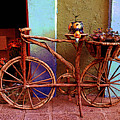 Wooden Bicycle by Mexicolors Art Photography