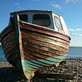 Wooden Boat by Claire Green