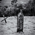 Wooden Cross  by Javier Flores