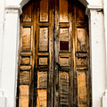 Wooden Door 1 by Totto Ponce