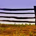 Wooden Fence by Bill Cannon
