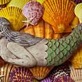 Wooden Mermaid by Garry Gay