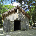 Wooden Mission Of Nombre De Dios by D Hackett