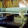 Wooden Wagon Seat by D Hackett