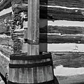 Wooden Water Barrel by Douglas Barnett