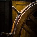 Wooden Wheel by Karen Hanley Colbert