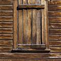 Wooden Window by Kelley King