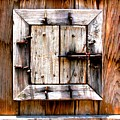 Wooden Window by Perry Webster