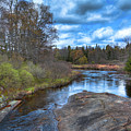 Woodhull Creek In May by David Patterson