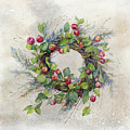 Woodland Berry Wreath by Colleen Taylor