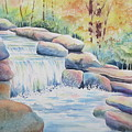 Woodland Falls by Deborah Ronglien