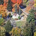 Woodlawn Cemetery Chapel Winona Minn by Kari Yearous