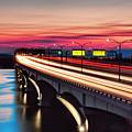 Woodrow Wilson Memorial Bridge by Bill Dodsworth