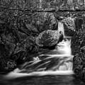 Woodward Falls-bw by Joye Ardyn Durham