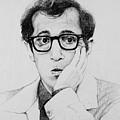 Woody Allen by James Deady