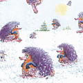 Woolly Snow Hoppers by Charles Cater