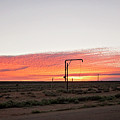 Woomera Sunset by Linda Lees