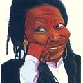 Woopy Goldberg by Emmanuel Baliyanga