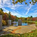 Worcester Massachusetts Vietnam Veterans Memorial  by Juergen Roth