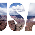 Word Usa Grand Canyon National Park, Arizona  by Mariusz Prusaczyk