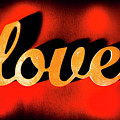 Words Of Love And Retro Romance by Jorgo Photography - Wall Art Gallery