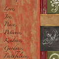 Words To Live By, Fruit Of The Spirit by Debbie DeWitt