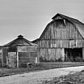 Working Farm Barn And Storage Bin by Douglas Barnett