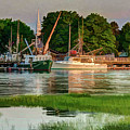 Working Waterfront by Dave Thompsen