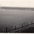 Workington - Borough Park - Covered End 1 - Bw - 1960s by Legendary Football Grounds