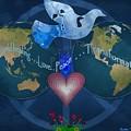 World Healing Inspirational by Bobbee Rickard