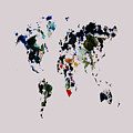 World Map 14b by Brian Reaves