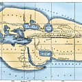 World Map: Eratosthenes by Granger
