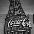 World Of Coca Cola Bw by Susan Candelario