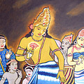 World Renowned Ajanta Painting  by Ragunath Venkatraman