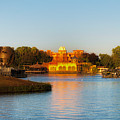 World Showcase Lagoon Before The Show Walt Disney World by Thomas Woolworth